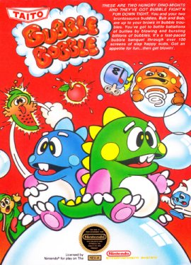 NES bubble Bobble
