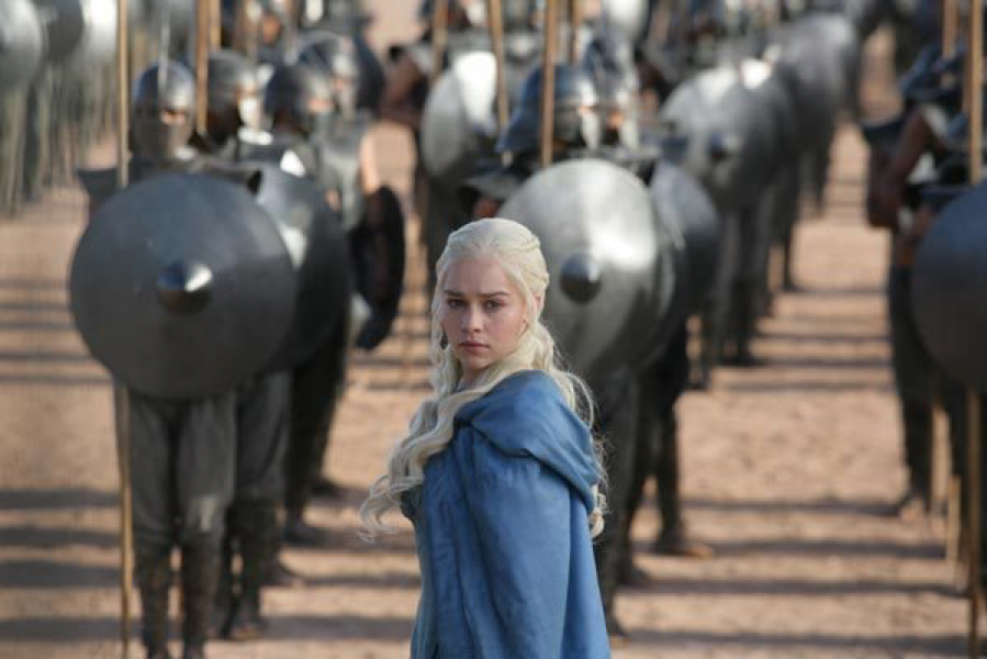 game of thrones denarys gets her army