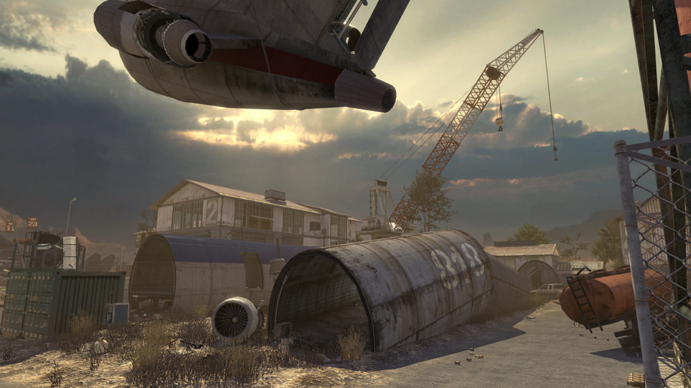 Call of Duty Modern Warfare 2 Scrapyard