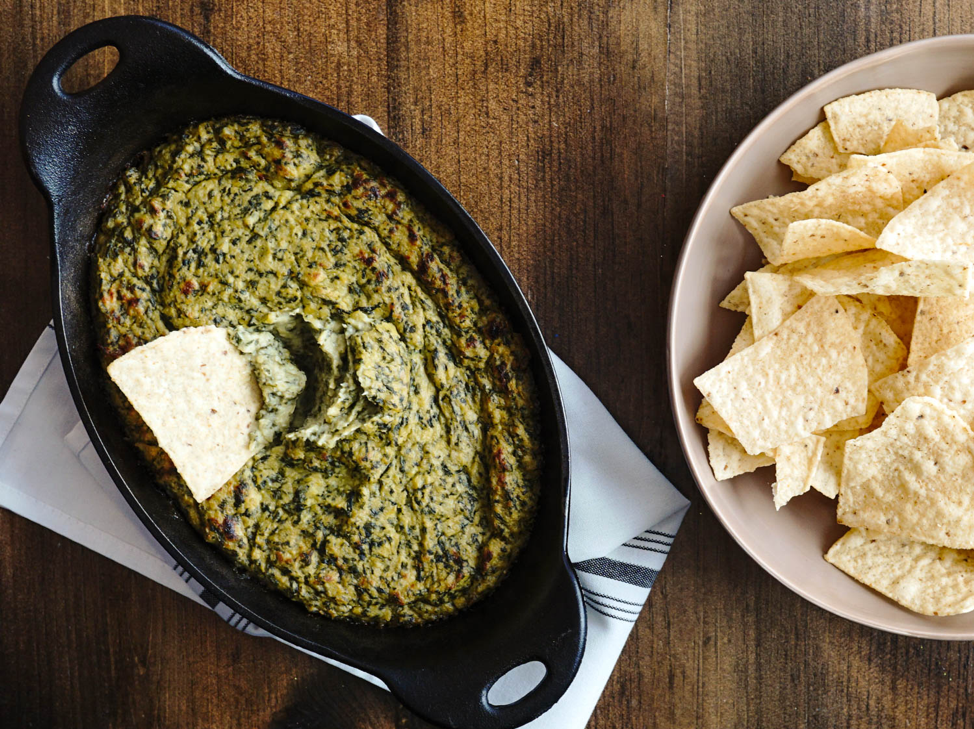 Top 5 Must Try Vegan Snack Ideas - Spinach and Artichoke Dip