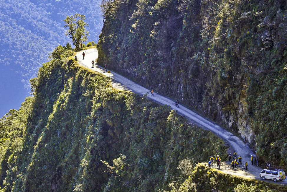 Top 5 Scariest Places on Earth North Yungas Road Bolivia