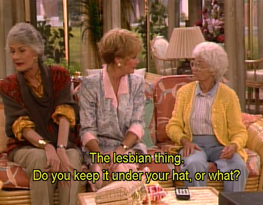 isnt it romantic - Golden Girls