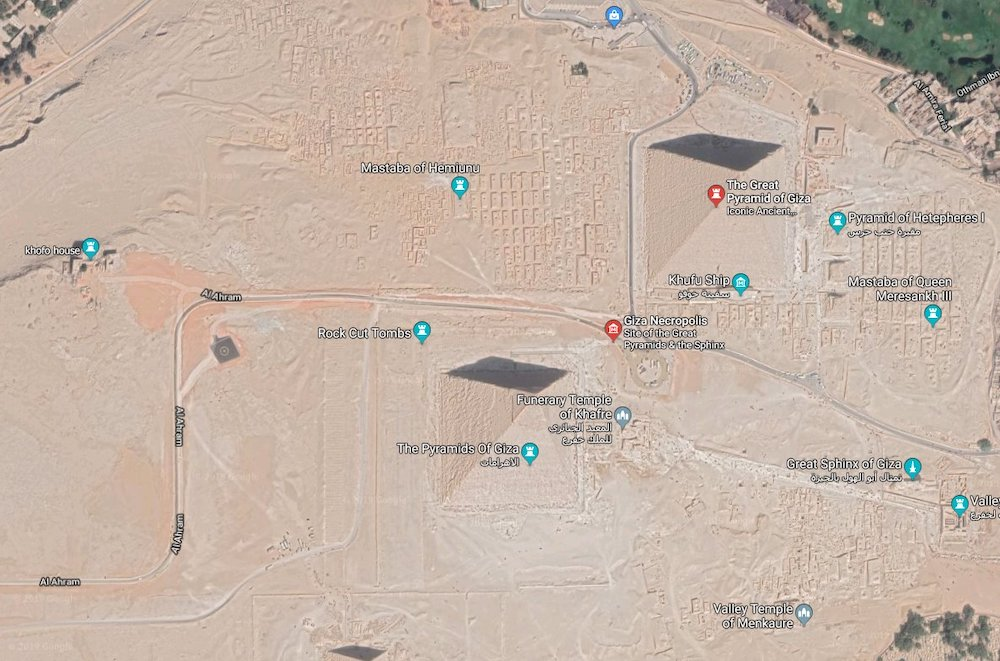 Top 5 Places To Look Up On Google Maps - Egypt
