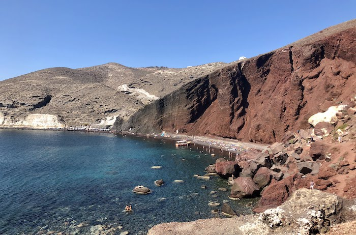 Top 5 Things to do in Santorini, Greece - Visit Red Beach and Black Beach