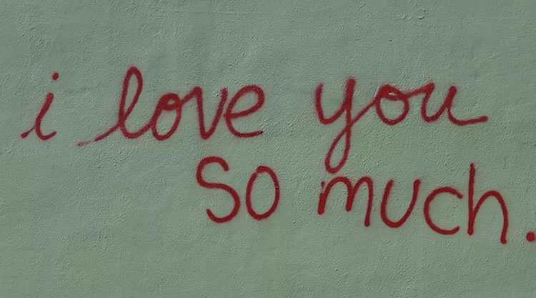 The Top 5 Free Things To Do In Austin - I lover you so much mural
