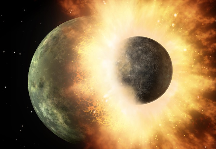 Top 5 Amazing Facts about the Moon - Giant Impact