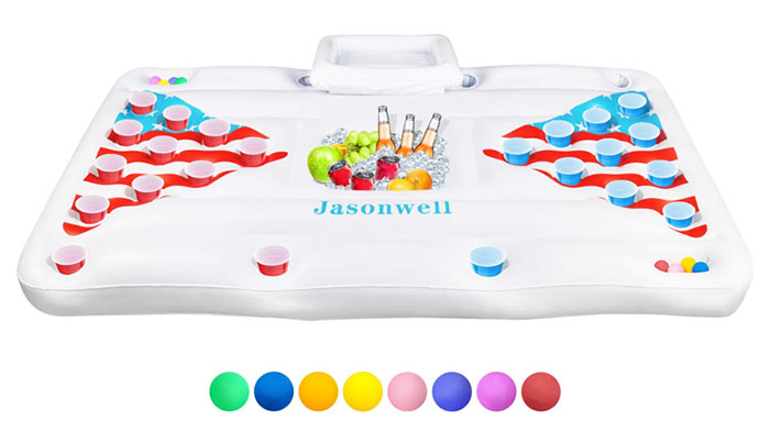 Top 5 Inflatables For Some Summer Fun - Pong Table