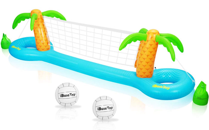Top 5 Inflatables For Some Summer Fun - Volleyball net