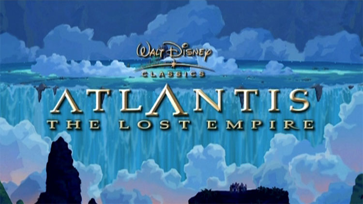 Top 5 Most Underrated Animated Movies - Atlantis The Lost Empire