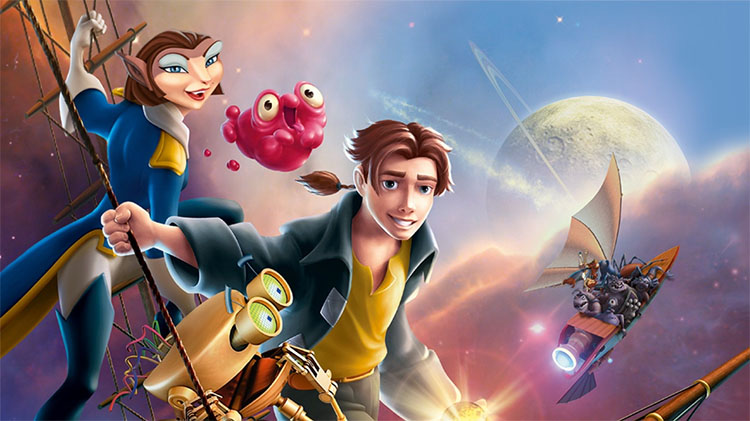 Top 5 Most Underrated Animated Movies - Treasure Planet