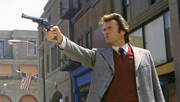 Top 5 Movie Cops - Harry Callahan