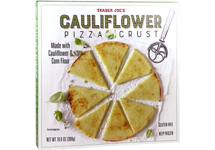 Top 5 Must Try Trader Joe's Products - Cauliflower Pizza