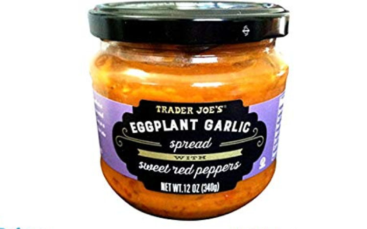Top 5 Must Try Trader Joe's Products - Eggplant Garlic Spread