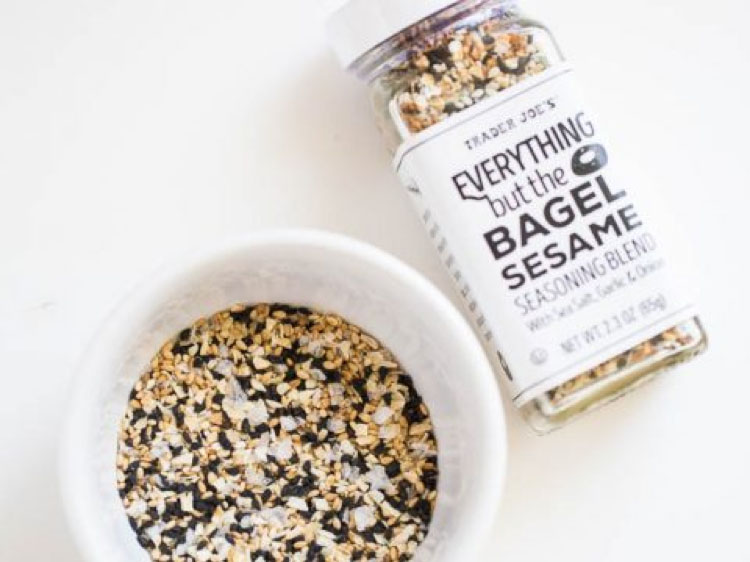 Top 5 Must Try Trader Joe's Products - Everything but the bagel seasoning