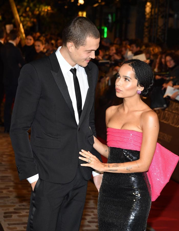 Top 5 New Celebrity Love Relationships - Karl Glusman Zoe Kravitz