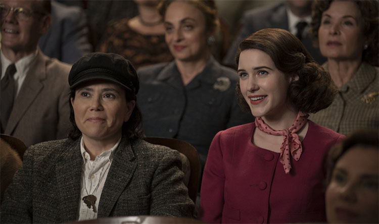 Top 5 TV Shows That Are Based In New York - The Marvelous Mrs Maisel