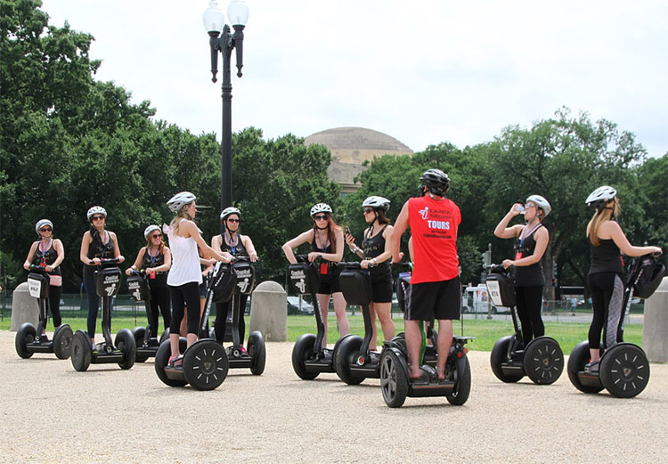 Top 5 Unique Ways To Explore A New City - Segway Tour