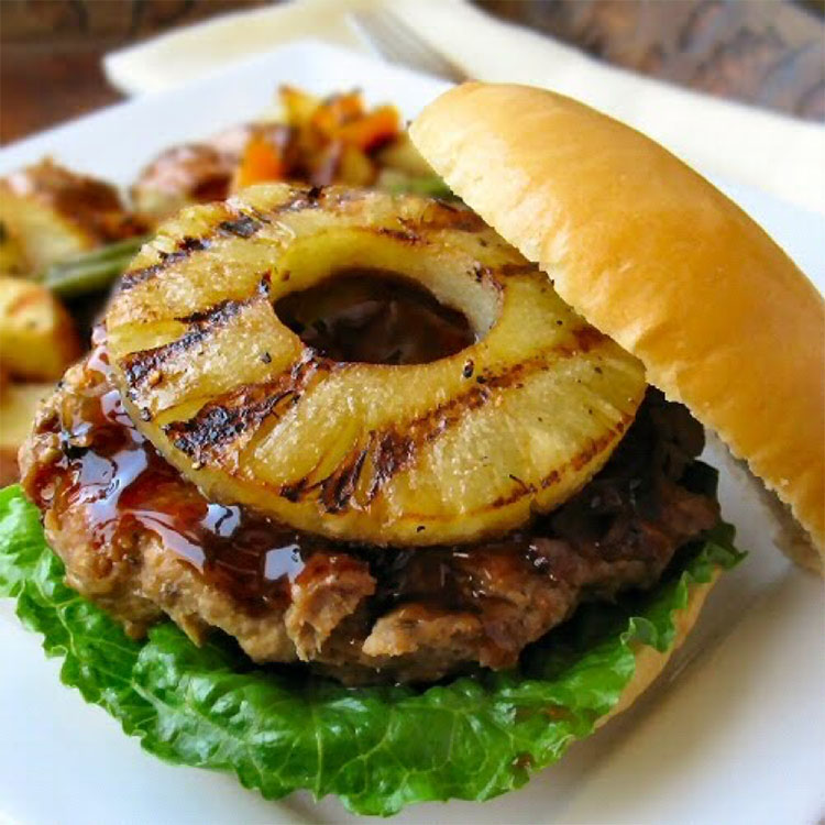 Top 5 must try burger toppings - Pineapple
