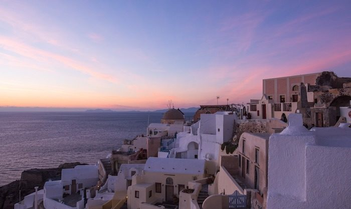 Top 5 Things to do in Santorini, Greece - Watch a movie at dusk
