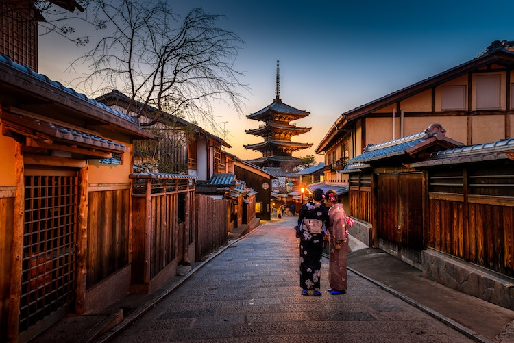Top 5 Most Scenic Venues for a Destination Wedding - Kyoto Japan
