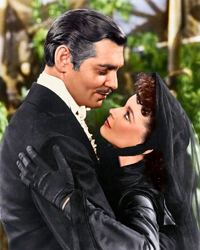 Romantic Movie Couple - Rhett and Scarlett Gone with the Wind