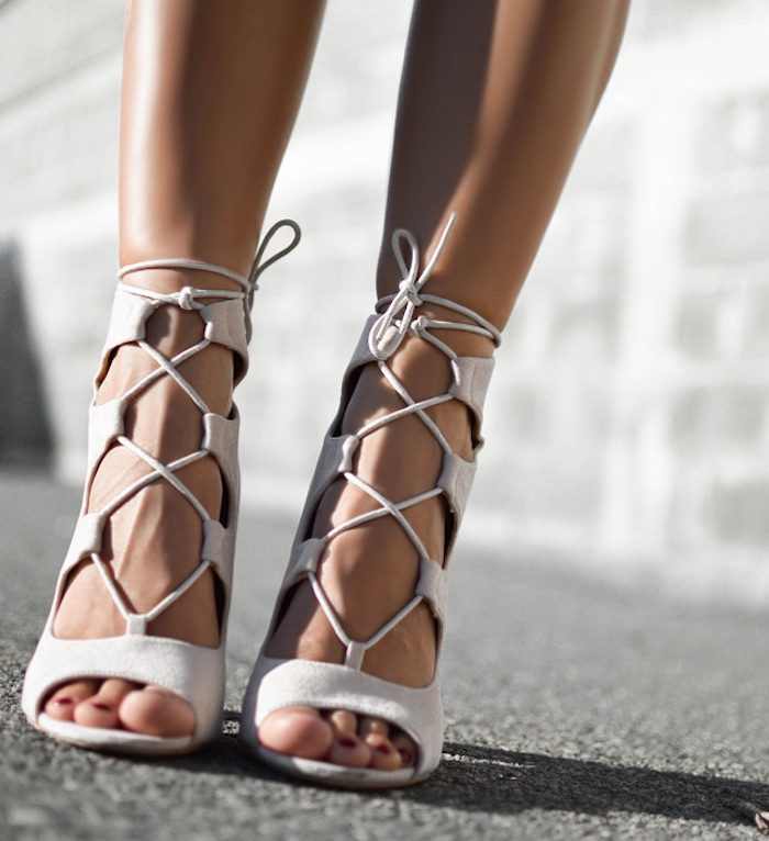 Top 5 Fashion Essentials For The Summer - Strappy Sandals