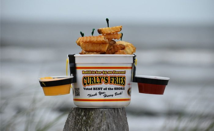 Top 5 Must Eat Foods In Ocean City - Curlys Fries