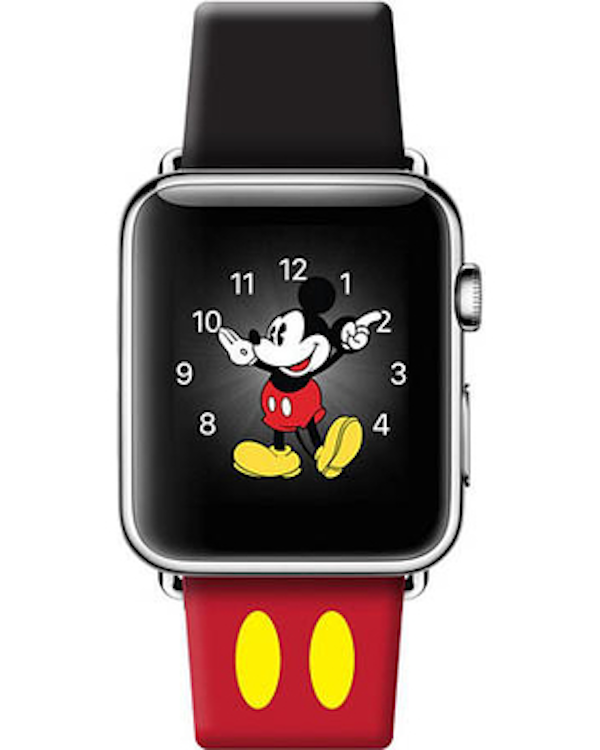 Top 5 Reasons to Own an Apple Watch - mickey mouse