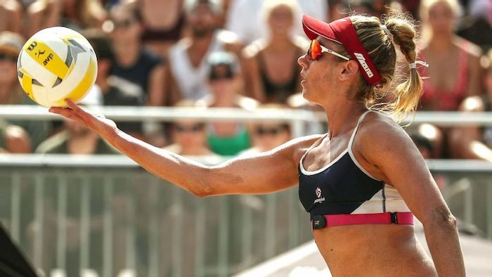 Top 5 Women Beach Volleyball Players - April Rose