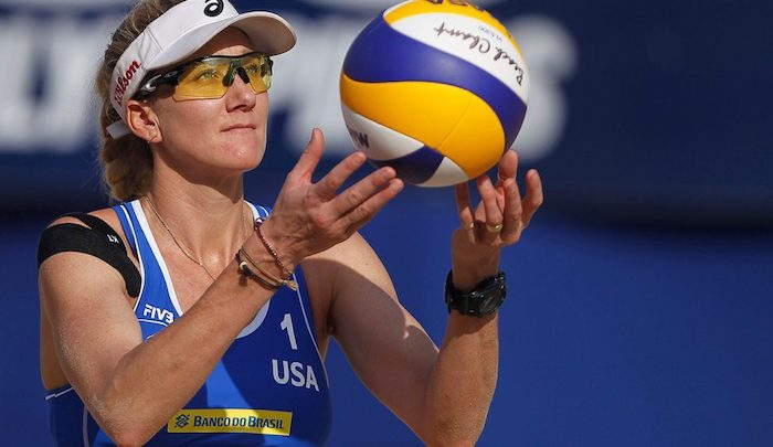Top 5 Women Beach Volleyball Players - Kerri Walsh Jennings