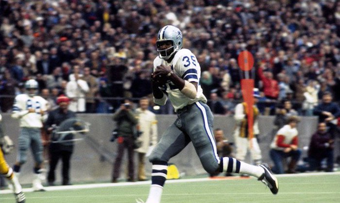 Top 5 all time rushing yards leaders Dallas Cowboys - Calvin Hill