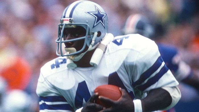 Top 5 all time rushing yards leaders Dallas Cowboys - Robert NewHouse