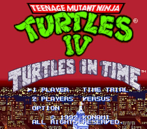 Super Nintendo Best Games - Teenage Mutant Ninja Turtles IV: Turtles In Time