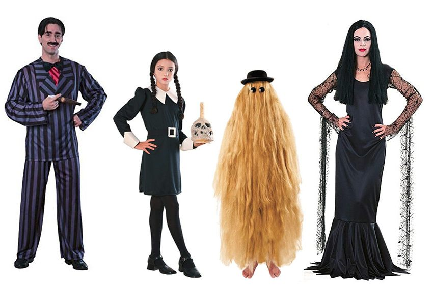 Top 5 Couple Group Halloween Costumes - Addams Family