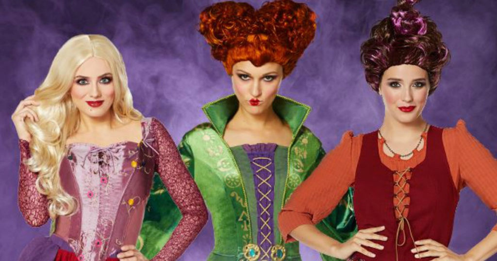 Top 5 Couple Group Halloween Costumes - Sanderson Sisters