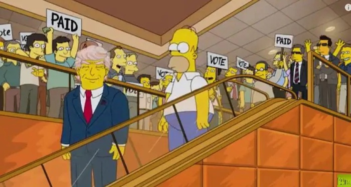 Top 5 The Simpsons Predections That Came True - Trump Running For President