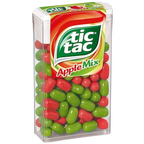 Top 5 Must Try Flavors of Tic Tac - Apple Mix