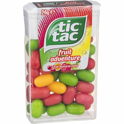 Top 5 Must Try Flavors of Tic Tac - Fruit Adeventure