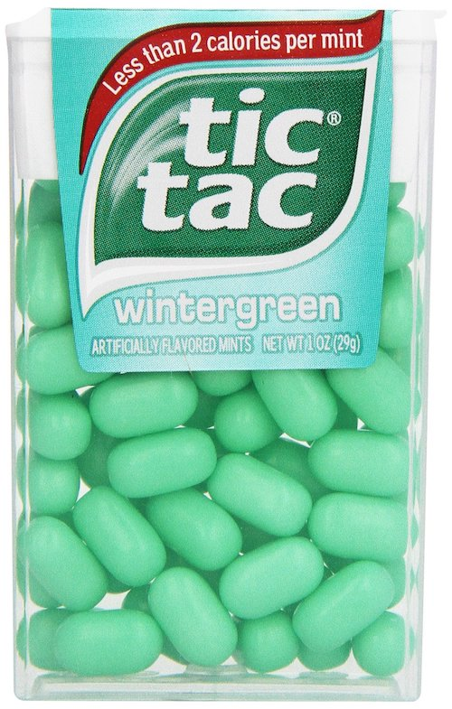 Top 5 Must Try Flavors of Tic Tac - Wintergreen