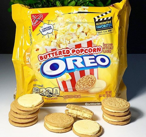 Top 5 Flavors of Oreo Cookies - Buttered Popcorn