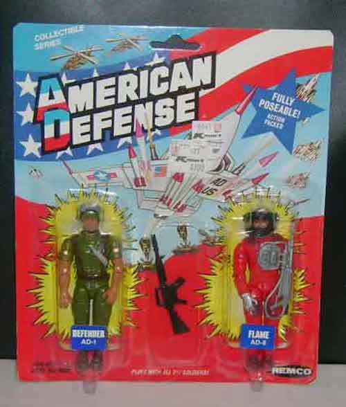 Top 5 GI Joe Action Figure Know Offs - American Defence
