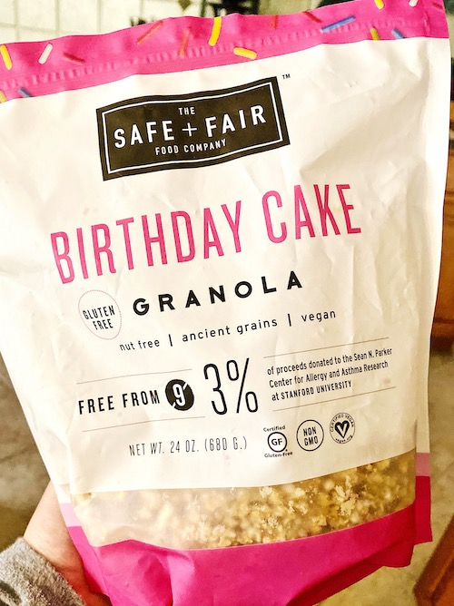Birthday Cake Granola