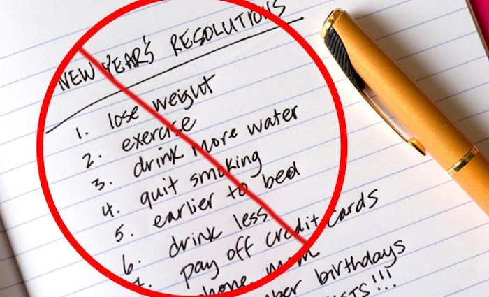 Top 5 Reasons Why You Shouldn't Make a New Years Resolution