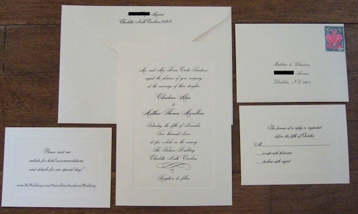 Top 5 Tips For Planning a Stress Free Wedding - Invitations