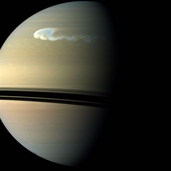 Great White Spot on Saturn