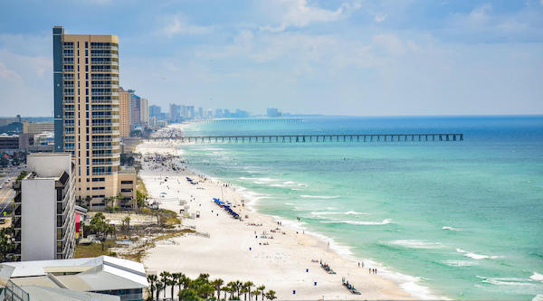 Top 5 Spring Break Destinations in Florida - panana city beach