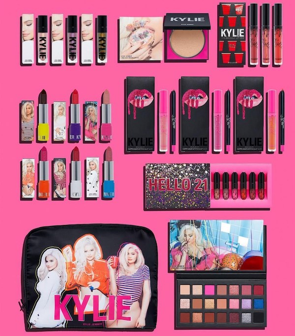 Top 5 Memorable Kylie Cosmetics Collections - 21st Birthday Collection