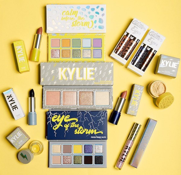 Top 5 Memorable Kylie Cosmetics Collections - Weather Collection