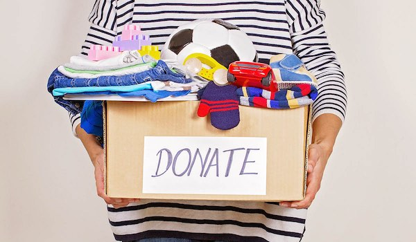 Top 5 Spring Cleaning Tips - Donate