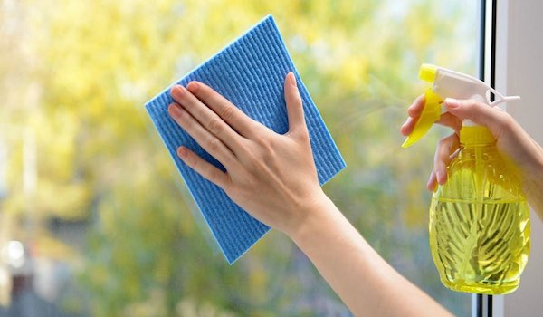 Top 5 Spring Cleaning Tips - Dont Forget Walls and Windows